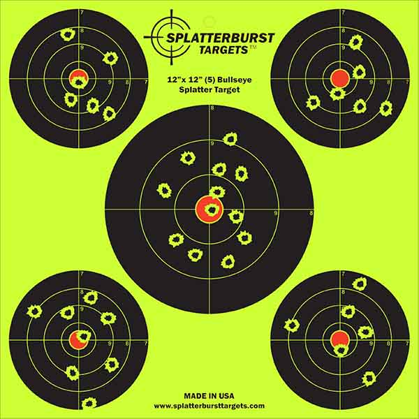 12 inch 5 targets new fl shot 600