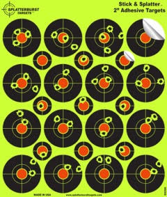 2 inch target